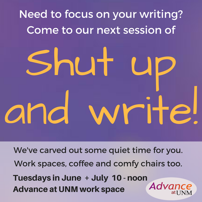 Shut up and write session! (10)