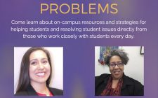 Learn about dealing with student problems and problem students Nov. 10