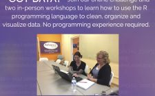 Bring your own data to the R workshop Dec. 4