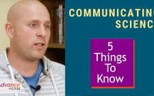 5 things to know communicating science