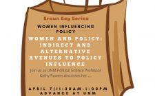 Women Influencing Policy | Brown Bag - Social Media