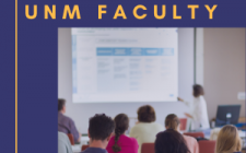 New UNM Faculty 2020 Thumbnail