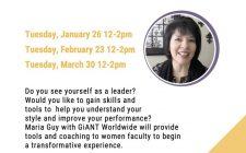 Women in Leadership Series - Flyer